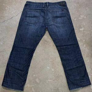 "Buffalo David Bitton Six Straight Blue Jeans W40 L32 Measures 31"""
